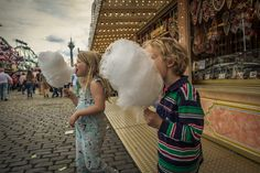 With his focus on a staple amusement park shot, Amsterdam-based Ron Gessel reminds us of fun and carefree times with a sweet set called Cotton Candy World.