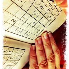 Hand sudoku #intercer #sudoku