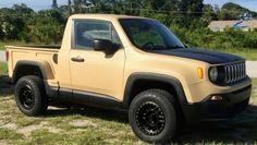 La Jeep Renegade Pick up modificata finisce su e bay