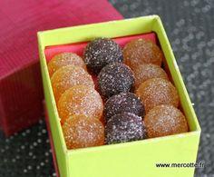 Recette de pâtes de fruits de Mercotte