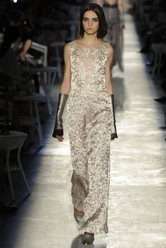 Magda Laguinge in Chanel Fall Couture 2012