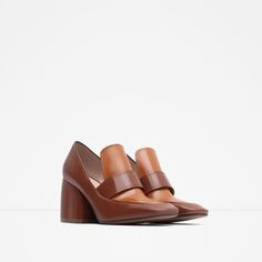 Image 2 of HIGH HEEL RETRO SHOES from Zara