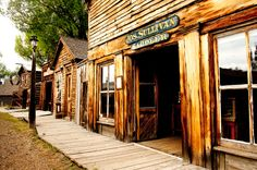 Abandoned Montana: Gold Rush Towns Sit In All Their Ghostly Glory (PHOTOS), Nevada City, Montana.
