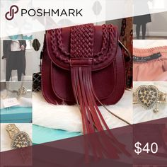 Chloe inspired cross body bag❤️ New never used!! Beautiful bag❤️ Nice and sturdy which I love! It has this nice fringe on the front which makes it kind of edgy! Bags Crossbody Bags
