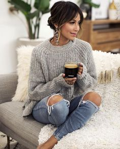The Gift of Nespresso. Sincerely Jules 2019 The Gift of Nespresso. Sincerely Jules The post The Gift of Nespresso. Sincerely Jules 2019 appeared first on Sweaters ideas. Mode Outfits, Fashion Outfits, Womens Fashion, Fashion Trends, Jeans Fashion, Fashion Ideas, Fashion Clothes, Fashion Boots, Style Clothes