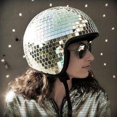 Casco disco ball