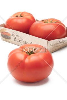 view of tomatoes. - Close-up of tomatoes.