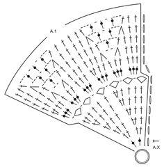 """Sol - Tapete DROPS em croché, em pontos altos e ponto rendado, feito com 2 fios """"Paris"""". - Free pattern by DROPS Design"""