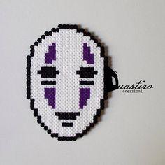 No Face Spirited Away hama perler beads by duastin_toyland
