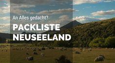 Neuseeland Packliste: In der übersichtlichen Neuseeland Packliste findest du alle Infos, damit Du nichts Wichtiges vergisst und nicht zu viel einpackst.