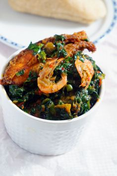 """This spinach stew locally known as """"Efo Riro"""" is guaranteed to be one of the most savory and delicious spinach recipes you will ever taste!"""