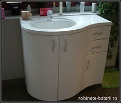 Mobilier baie curbat Amnia Vanity, Bathroom, Faucet, Tripod, Dressing Tables, Washroom, Powder Room, Bathrooms, Vanity Organization