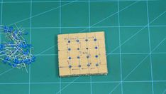 This project will show you how to make a DIY Flashing LED Cube, with a wide range of pattern to play with. Let's begin making the 4 x 4 x 4 LED Cube. Electronic Circuit Projects, Electronics Projects, Led Cube Arduino, Starter Kit, Pattern, Diy, Cubes, Industrial, Blue Prints