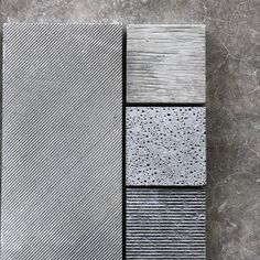 concrete reveals a lot of character and imperfections and raw texture and that's why we love it 🖤// our ZUMA range shows this brutalist beauty the most in floor + wall tile, pavers and panels Concrete Cladding, Concrete Wall Panels, Concrete Wall Texture, Concrete Tiles, Tiles Texture, Concrete Design, Wall Cladding Panels, Stone Texture, Brutalist