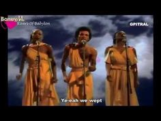 Lyrics - By The Rivers of Babylon - Boney M. By the rivers of Babylon, there we sat down; ye-eah we wept, when we remembered Zion. By the rivers of Babylon, there we sat down; Best Old Songs, Greatest Songs, Greatest Hits, German Tv Shows, Boney M, Pop Charts, Greek Music, Merry Christmas, Music