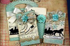 beautiful winter card set and packaging......beautiful!!!
