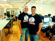 Great to hang out w/ @TedRubin #mayhemNYC Internet Media Labs — with Ted Rubin in New York.