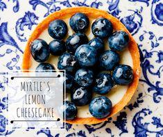 LEMON MYRTLE CHEESECAKE - Recipe here