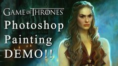 Game of Thrones - Photoshop Painting - Singer Sargent