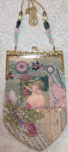 Crazy Quilt Purse SALE by Patwintergatherings on Etsy