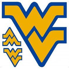 West Virginia Mountaineers Peel & Stick Logo Decal