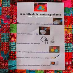 Peinture gonflante microondes Ecole Art, Art Plastique, Art Techniques, Diy For Kids, 3 Arts, Activities For Kids, Art Projects, Arts And Crafts, Creative