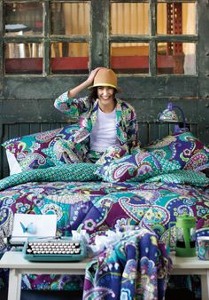 New! Vera Bradley Fall 2013 Bedding  OMG Vera Bradley has bedding?!? I know where I will be finding a quilt for those cold winter nights!