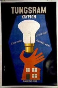 Chisholm Larsson Gallery has over Original Vintage Posters, spanning all genres. Graphic Illustration, Illustrations, Vintage Posters, Bulbs, Lamps, Graphics, The Originals, Retro, Advertising