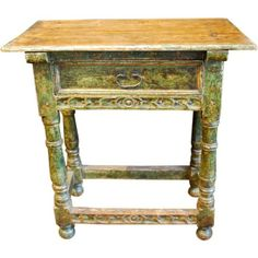 Vintage Friday Spanish tables
