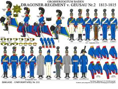 Baden Dragoons No. Lead Soldiers, Toy Soldiers, Napoleonic Wars, Empire, American Revolution, World History, Military History, Revolutionaries, The Unit