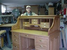 Abner Cutler Norm Shows You How to Build a Roll Top Desk Part 1 of 2 and was wondering if you could