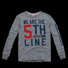 """Started by a group of fans known as The CBJ Artillery, #WeAreThe5thLine has taken Twitter by storm as the rallying cry for the Columbus Blue Jackets. With four lines of players on the ice, Columbus fans make up the 5th Line, pledging their support for the Jackets at Nationwide Arena and beyond.  • UNISEX STYLE• HEATHERED GREY, POLY/COTTON/RAYON BLEND• CREWNECK LONG SLEEVE TEE SHIRT• PREWASHED• SLIMMER FIT• EMBROIDERED """"H"""" PATCH AT LEFT SLEEVE• SOFT SCREENPRINT AT CHEST AND LEFT SLEEVE• MADE…"""