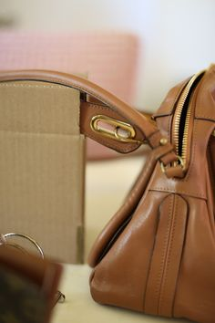 How To Fix A Worn Leather Purse Hand Strap