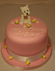 westie birthday cakes - Google Search