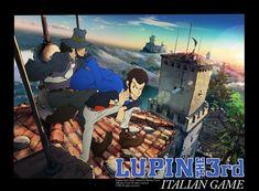 Sinopsis Lupin III: Italian Game:     Cerita spesial berpusat pada penculikan Rebecca Rossellini, seorang pemilik bisnis cantik yang ...