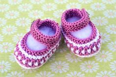 Ravelry: Little Stars Baby Booties pattern by Christy Hills