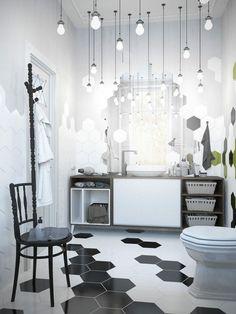 décoration de wc toilettes intéressante