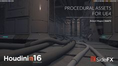 In this presentation, Robert Magee will show how you can create procedural assets in Houdini that can be loaded into Unreal Engine 4 using the Houdini Engine plug-in. He will talk about how assets can be built in Houdini's node-based environment and then how to best deploy them into the game engine.