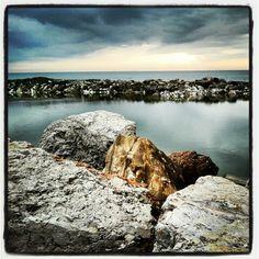 Marina di #Pisa, col cielo in burrasca! #mare #sea #colors #sky