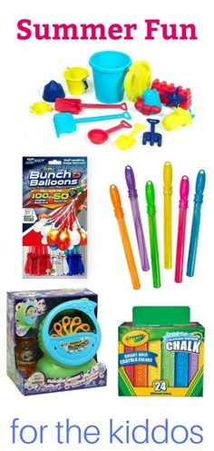 Send the kiddos outside with these fun summer toys! #ad #toys #summerfun #shopthelook