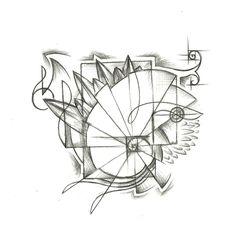 Laurens Fibonacci Spiral  TREEHOUSE TATTOO STUDIO