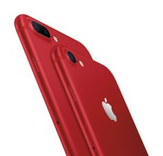 Apple launches red iPhone7.