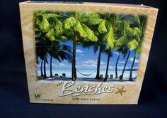 Milton Bradley Beaches 500 Pc Jigsaw Puzzle New Zealand 13 7/8 x 19 7/8 Ages 10+ #MiltonBradley $17.99