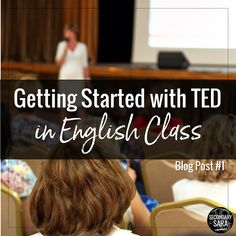 Ideas and resources for middle and high school English teachers!