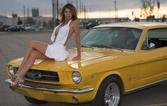 Ladies posing with cars .. Can we if we don't get OVERBOARD ? - The BangShift.com Forums