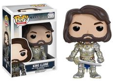 The world of Warcraft comes to life with Pop! Vinyls! This Warcraft King Llane Pop! Vinyl Figure features the mighty King as an adorable vinyl figure! Standing about 3 3/4 inches tall, this figure is packaged in a window display box. #funko #popvinyl #actionfigure #collectible #Warcraft #KingLlane