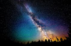 The Milky Way in the Mount Baker Wilderness ~ Article for starry night photography