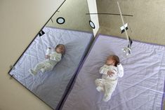 Babies, mobiles and Montessori inspired spaces