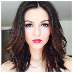 Picture of Victoria Justice Victoria Justice, Vicky Justice, Brunette Actresses, She Is Gorgeous, Beautiful Women, Hot Brunette, Thing 1, Pretty Face, Makeup Looks
