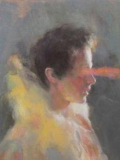 """Saatchi Art Artist Anna Madia; Painting, """"Heathcliff"""" #art"""